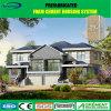 태양 전지판을%s 가진 조립식 경제 빠른 모이는 모듈 Prefabricated 집
