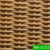 최신 판매 마호가니 손에 의하여 길쌈되는 전천후 플라스틱 배치 (BM-31712)