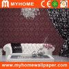 Papel de empapelar barato del PVC de Guangzhou para la decoración casera