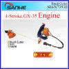 Heiß! ! ! Gx35 4-Stroke Knapsack Gasoline Grass Cutter