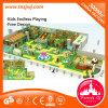 Подгонянная тема джунглей свободно конструирует спортивную площадку детей крытую для лабиринта