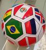 Le football en cuir recyclé