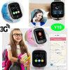 3G/WCDMA престарелых Часы с GPS с камерой 3,0 и кнопку парового удара Y19