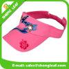 Cappello promozionale 100% della visiera di Sun di sport della visiera di Sun di golf del cotone