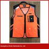 Maglia arancione fluorescente di stampa della fabbrica di Guangzhou della maglia poco costosa su ordinazione della maglia (V35)