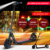 Motorino elettrico di mobilità di piegatura astuta delle due rotelle (ET motorino)