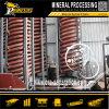 Equipo espiral de proceso mineral de la recuperación del mineral del oro de la máquina de la separación de la gravedad