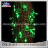 クリスマスの装飾の休日薄緑のLEDストリングライト70 LED 5mmストリングライト