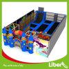Parc d'intérieur sautant libre de trempoline de lit de grand modèle de château d'enfant
