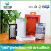 El medio ambiente plástico PVC // PP/ envases de PET de verificación de la impresión (por teléfono).