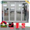 Цена двери ванной комнаты UPVC/PVC с шторками внутрь