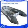 barca di alluminio di 12FT con il PVC/tubo di Hypalon da vendere