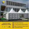 10X15m het Dubbele Huis van de Tent van het Dek met de Kant van het Glas en ABS Muur