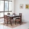 Tableau dinant de Tableau dinant de restaurant de chêne rustique en bois de modèle neuf