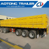 Caixa Tipo Furgão Tri-Axle semi reboque trailer da Fabricação