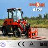 Er08 Mini колесный погрузчик с маркировкой CE двигатель/Вилы для поддонов для продажи