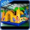 子供のゲームのための巨大で膨脹可能な象の乾燥したスライド