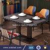 포도 수확 Tolix Industral 금속 대중음식점 테이블 Sbe-CZ0616