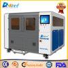 300W de fibra de pequeño tamaño, el Metal de corte por láser máquina de procesamiento de la hoja de equipo CNC