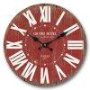 Reloj redondo del MDF de la antigüedad (vendimia)