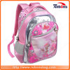 Moda personalizada School Backpack Multi-Function Outdoor School Bags com Flower Silk-Screen