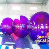 Violet gonflable en PVC de 2 m à pied de l'eau pour les sports nautiques à billes