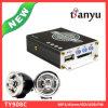 Populäre Motorrad-Zubehör Sirene-Systems DER USB-Ableiter-FM des Radio-Audiowarnungs-MP3