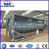 化学液体タンク容器の腐食性のタンカーの交通機関20cbmのタンカーの容器