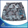 Shorts feitos sob encomenda da placa do Swimwear do Beachwear do Sublimation dos cabritos