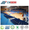 Campo da pallacanestro di legno del grano di prezzi di rendimento elevato di scopo poco costoso della concorrenza