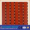 그루브 디자인 나무 목재 음향 패널
