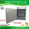 Incubateurs automatiques et Hatchers d'oeufs de certificat de la CE 1000 oeufs (KP-10)