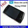 체코 언어 (F9500) 공기 부속품 (KHG001)를 가진 HFlying 3 SIM 텔레비젼 전화