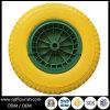 Flacher freier PU-Schaumgummi-Rad-Reifen für Handlaufkatze 16 ''