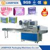 De automatische Machine van de Verpakking van het Hoofdkussen van het Maandverband Achter Verzegelende Verpakkende