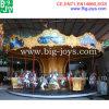 Unterhaltungs-Karussell, mechanische Pferden-Fahrten für Verkauf (BJ-AT73)
