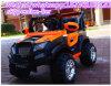 Kind-elektrisches Auto mit heller Baby-Fahrt auf Auto