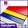 La certificación CE PE Paneles de revestimiento compuesto de aluminio Panel de pared en Jiangsu