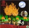 Árbol de arce del árbol del LED Emulational que modela la decoración al aire libre ligera de la Navidad