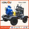 Pompa ad acqua raffreddata ad acqua diesel di irrigazione di innesco di auto sulle rotelle