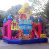 공장 직접 인기 상품 좋은 가격 니스 질 활주, 아이를 위한 주문을 받아서 만들어진 팽창식 뛰어오르는 도약자를 가진 팽창식 도약자 성곽