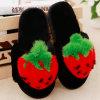 Pele macia de Inverno de cores selecionáveis chinelos para Mulheres