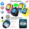 3G GPS van de Jonge geitjes/van het Kind van WiFi het Horloge van de Drijver met de Camera van de Omwenteling D18s