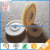 Weißes POM Plastikriemenscheiben-Rad des Einfachkanal-für Fenster