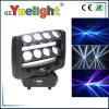 Hot Sale 8pcs 10W Déplacement de la tête d'Araignée de lumière à LED