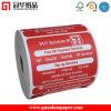 Papier thermique imprimé de position personnalisé par ISO9001, papier de caisse comptable