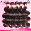 Fornecedores de Guangzhou 7A Grade Unprocessed Virgin Brazilian Human Hair (QB-BVRH-BW)