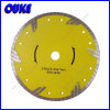 230m m Diamond Turbo Saw Blade con Protective Teeth