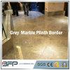 벽 또는 지면 도와 내부를 위한 좋은 회색 대리석 둘러싸는 국경 또는 Plinth