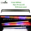 Het nieuwe 50 RGB LEIDENE CREE van de Duim 288W Licht van de Staaf